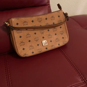 Authentic Mcm Tote Pouch clutch